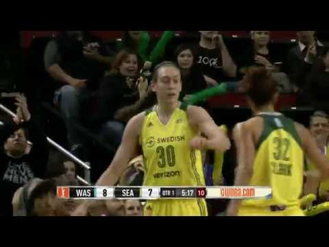 Breanna Stewart Scores 25 Points Against Mystics