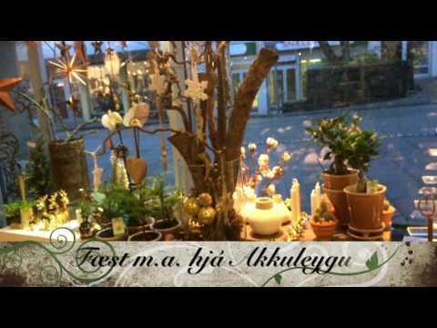 Grønt føroyskt dekoratiónspynt frá FLIS.fo