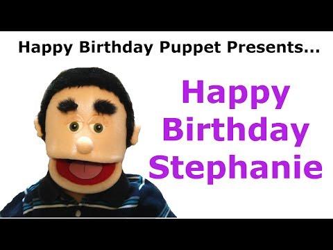 Funny Happy Birthday Stephanie - Birthday Song