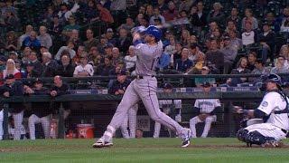 TEX@SEA: Rangers launch four home runs vs. Mariners