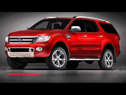 PRÉVIA Ford Everest 2015 - Futura concorrente da Chevrolet ...