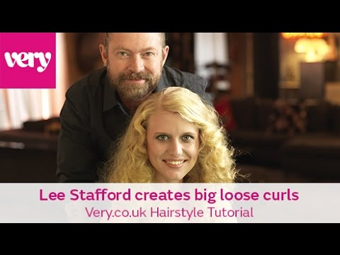 Lee Stafford & the chopstick styler   Very.co.uk Hairstyle Tutorial