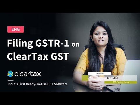 How To Create Delivery Challan In Cleartax Gst Youtube