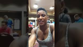 Angela Hill - Facebook Live Q&A - (The Ultimate Fighter: Redemption Finale) - (2017.07.03) - /r/WMMA
