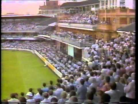 Cricket : M.C.C. v Rest Of The World XI  1987 highlights