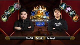 GivePLZ vs Bankyugi | 2021 Hearthstone Grandmasters Asia-Pacific | Decider | Season 1 | Week 2