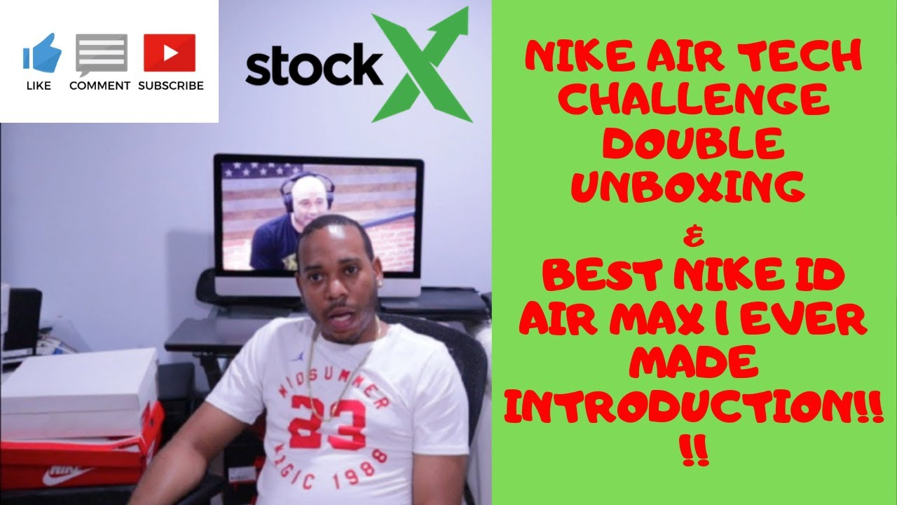 NIKE AIR TECH CHALLENGE II DOUBLE UNBOXING, AIR MAX 1 MAD MAX NIKE ID INTRODUCTION, US OPEN, AUSTRAL