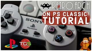 RetroArch on the PS Classic Tutorial! (Play SNES, Arcade, N64, MegaDrive and more!)