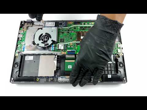 ASUS X509 - Disassembly And Upgrade Options