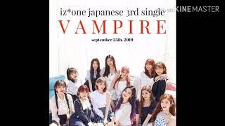 Izone - vampire karoke + lirik easy