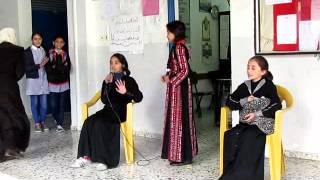 احتفال مدرسة بنات بيت عنان الأساسية باليوم العالمي لحقوق الانسان لسنة 2015\2016        5