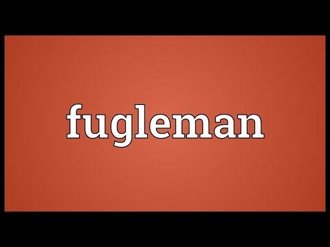 Header of fugleman