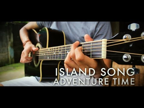 Island Song Adventure Time TributeWith Tabs  Guitar Fingerstyle  Naiah Yabes
