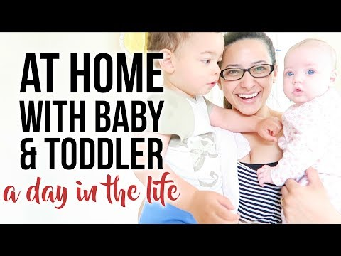 A DAY IN THE LIFE OF A MUM: At Home With a Baby And a Toddler | Ysis Lorenna