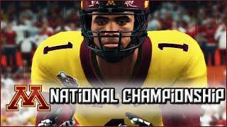 NCAA Football 14 Dynasty: National Championship vs #2 Georgia - Season 8