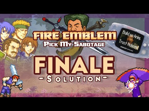 Fire Emblem: Blazing Sword Part 11 - Chapter 9: A Grim Reunion (Hard Mode) from YouTube · Duration:  20 minutes 53 seconds