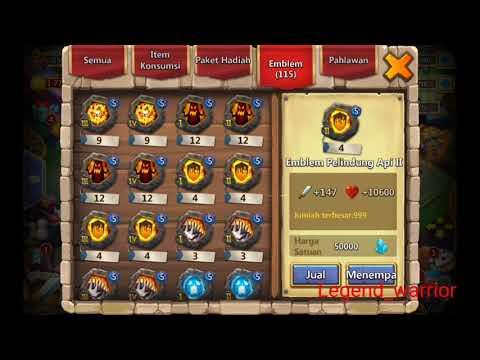 Combine 4 Set Bullwark5 N Review All My Crest Castle Clash #190
