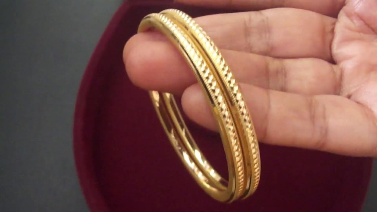 10 Grams Gold Bangle Design You