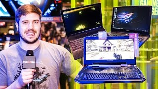 Overkill Laptops @ PAX East 2017