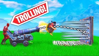 *NEW* CANNON TROLLING TRICK..!! | Fortnite Funny and Best Moments Ep.408 (Fortnite Battle Royale)