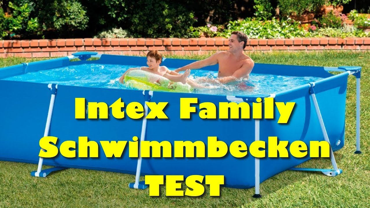 Solarplane Pool Intex 305 Intex Pool Test Intex Family Schwimmbecken Blau Bester Pool 2018