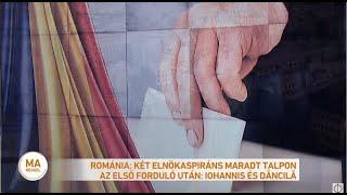 Románia: két elnökaspiráns maradt talpon az első forduló után