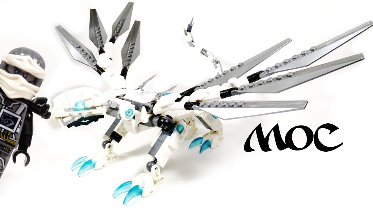 Lego Dragon Dragon Moccustom Zane's Titanium Ninjago qzMpUSV