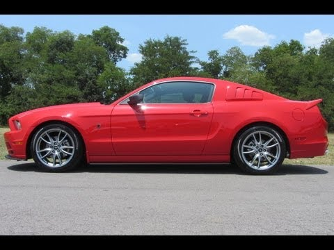 2013 Roush Rs Mustang 29 665 00 Msrp 6spd 102a Race Red