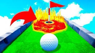 КАК ЭТО ПРОЙТИ? СЛОЖНАЯ И МЕГА УГАРНАЯ ЛУНКА ДЛЯ ПРО! САМАЯ ЭПИЧНАЯ КАРТА В ГОЛЬФ ИТ (Golf It)