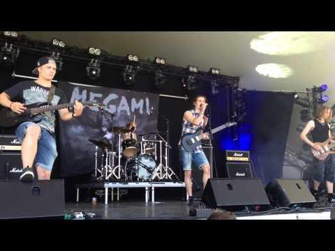 Megami Live SommarRocken 2014- Intro & Resurrection of the Manna Machine
