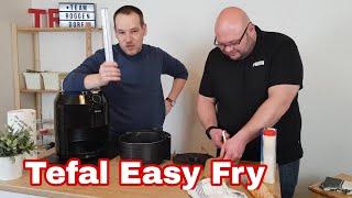 Tefal Easy Fry Claṡsic Heißluftfritteuse XL ey2018 4.2L im Test Review mit Pancakes aus dem Airfryer