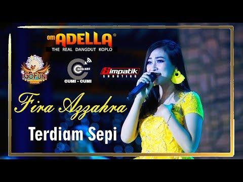 Fira Azzahra Cover Terdiam Sepi ( OM.ADELLA Live #GofunBojonegoro )