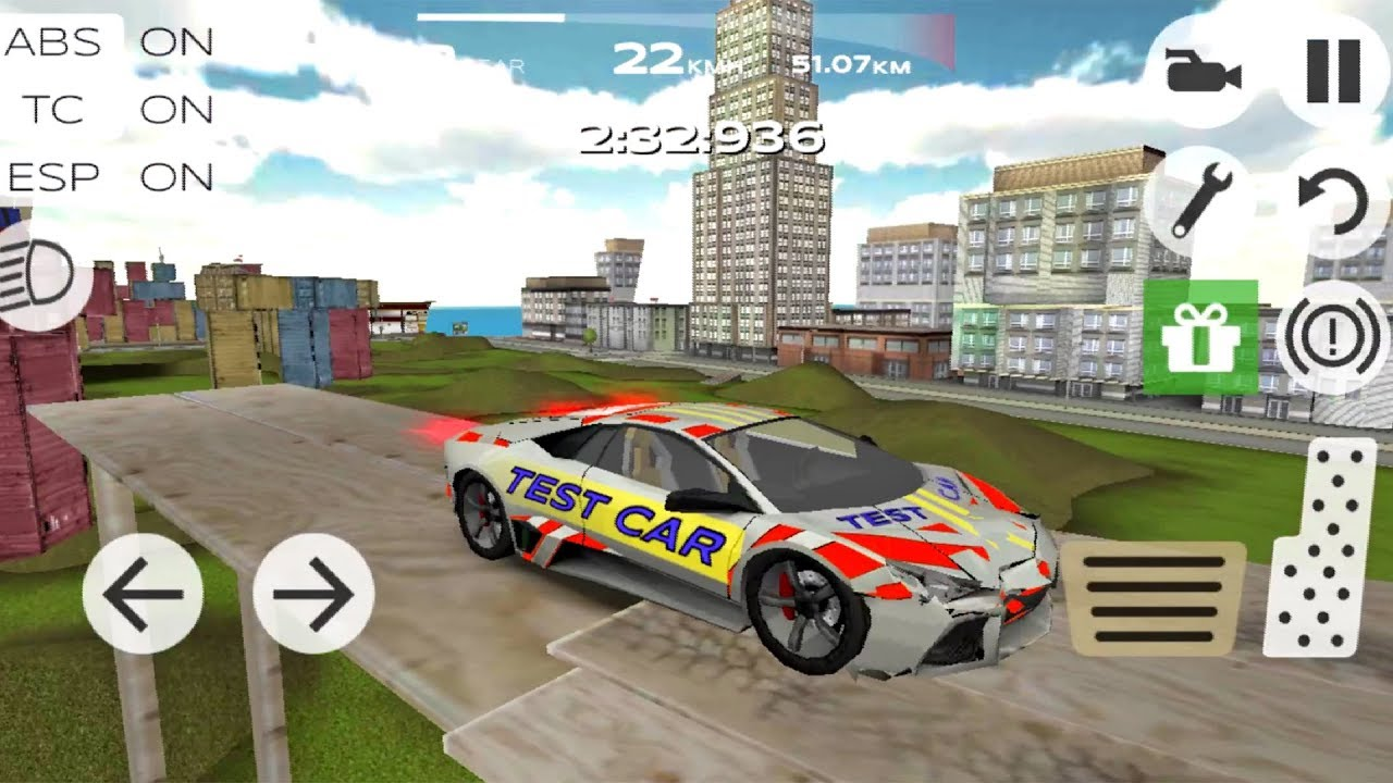 Extreme Car Driving Simulator 5 Android Ios Gameplay Youtube
