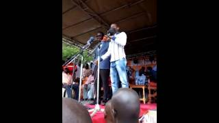 Raila in tears of laughter on  Babu's reply to Ababu