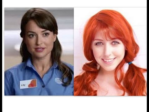 AT&T Girl VS Wendy's Girl Sexy Picture Compilation! Milana Vayntrub VS Morgan Smith Goodwin