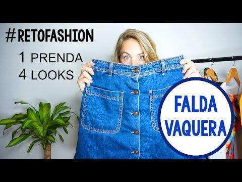 #RETOFASHION: FALDA VAQUERA | 1 PRENDA, 4 LOOKS | teresatomu