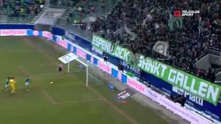 Fc St.gallen Vs Fc Luzern 4-0 / Raiffeisen Super League / 24.02.2013