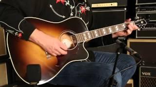 Gibson Montana Hummingbird Pro EC  •  SN: 10253023