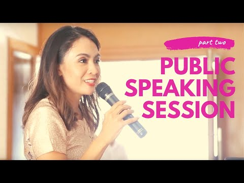 Tutorial Bicara Di Depan Umum/Public Speaking
