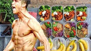Ernährungsplan für Cristiano Ronaldo Körper!