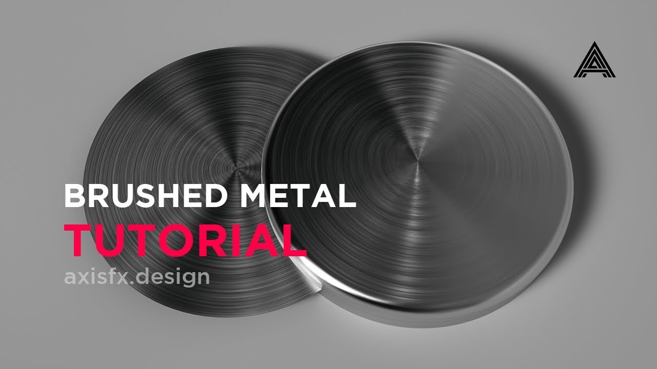 Brushed Metal Anisotropy Material in Octane for Cinema 4D ... Black And Silver Background