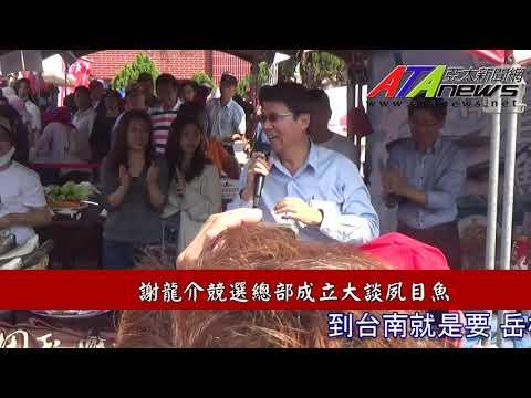 台南市立委補選謝龍介競選總部成立