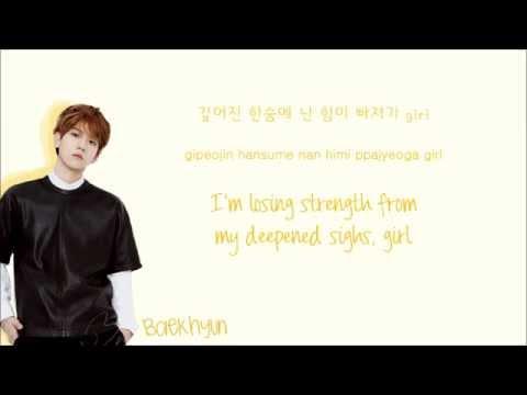 EXOK  Exodus Color Coded HangulRomEng Lyrics