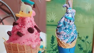 Disney's NEW Character-Inspired Ice Cream Cones Will Make You Melt
