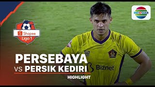 Highlights - Persebaya 1 vs 1 Persik | Shopee Liga 1 2020
