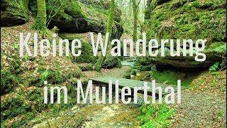 Kleine Wanderung im Mullerthal bei Echternach (Luxemburg)