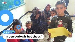 '70.000 kinderen op de vlucht door gevechten in Syrië'