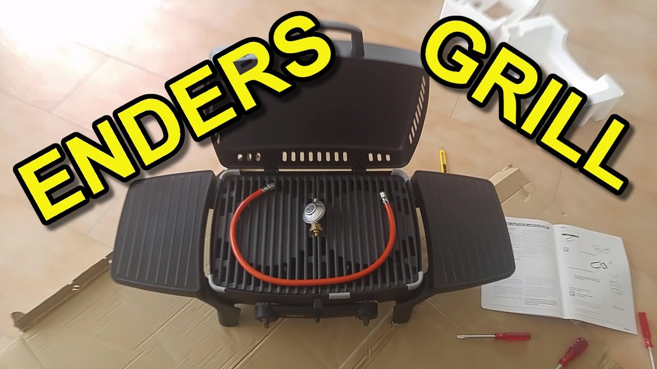 Enders Gasgrill Campinggrill Explorer : Enders campinggrill explorer test enders gasgrill boston black ik