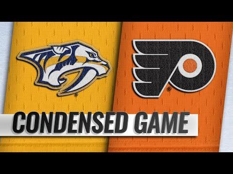 12/20/18 Condensed Game: Predators @ Flyers