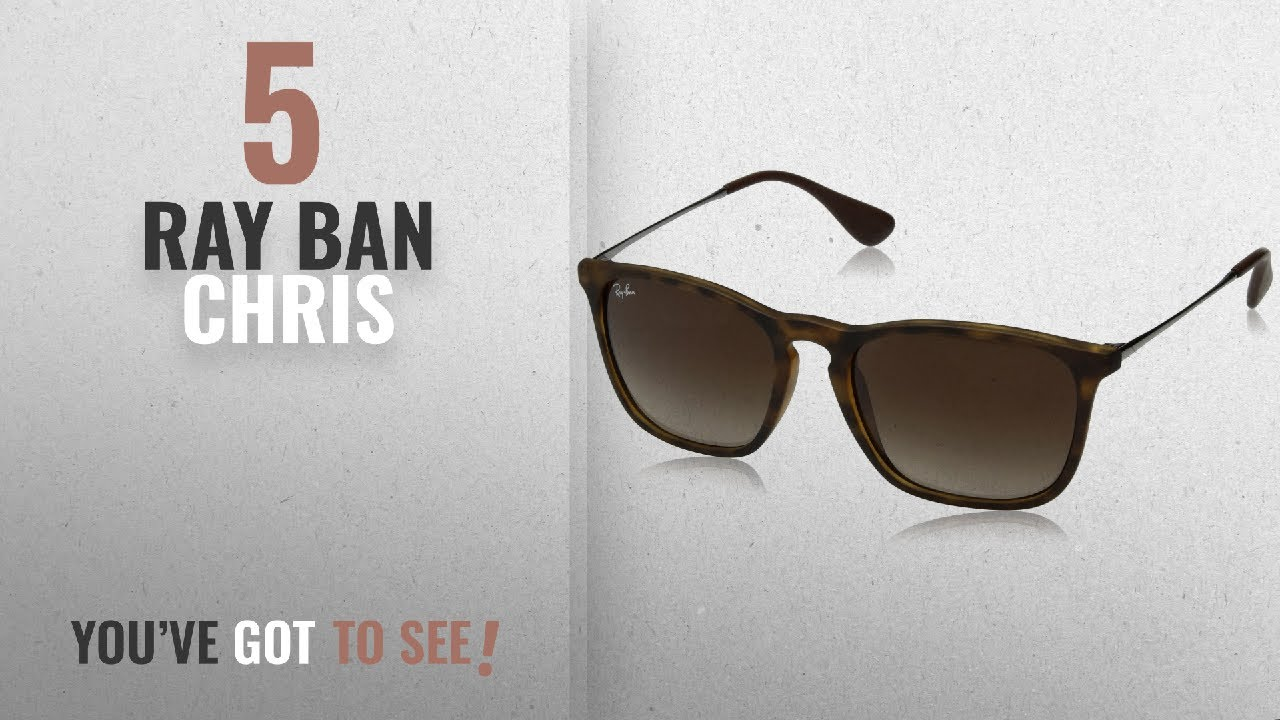 c27497b48b Top 10 Ray Ban Chris   Winter 2018    Ray-Ban CHRIS - RUBBER HAVANA ...